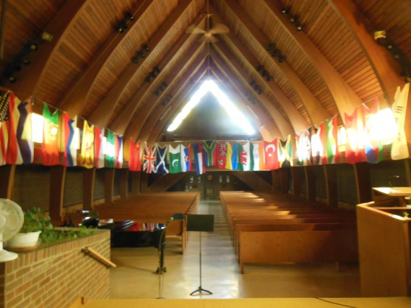 Flags of the World for Pentecost